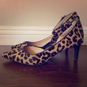 Franco Sarto Dandy 2 Leopard/ Cheetah Pump Size 8